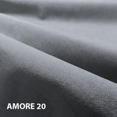 Чехол на подушку 40х40 из велюра amore 20 pastel blue, пастельно-синий