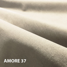 Велюр мебельная ткань для обивки Amore 37 silver, серебро