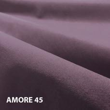 Велюр мебельная ткань для обивки Amore 45 Dk. Violet, темно-фиолетовый