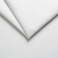 Велюр мебельный bloom 01 white, белый
