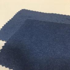 Велюр алоба серо-голубой на ппу 3 мм + спанбонд