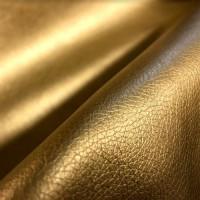 Мебельная экокожа орегон gold, золото, толщина 0,9 мм