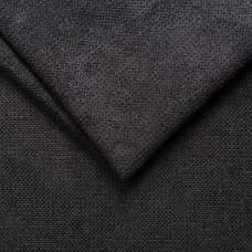Мебельная обивочная ткань микрофибра crown 20 black, черный