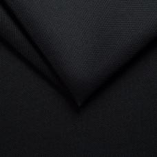 Рогожка обивочная ткань для мебели flash 19 black, черный