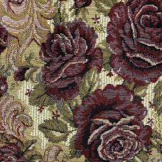 Мебельная ткань гобелен розы ширина 2,1 м