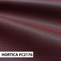 Экокожа hortica pc2176 бордовая перфорация