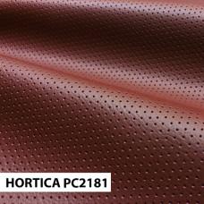 Экокожа hortica pc2181 красная перфорация
