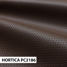 Экокожа hortica pc2186 коричневая перфорация