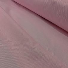 Ткань розовая в полоску 100% хлопок Польша