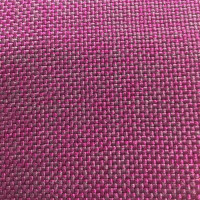 Рогожка обивочная ткань для мебели розовая крафт 14