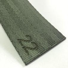 Лента ремня безопасности 22 темно-зеленая (армейский)