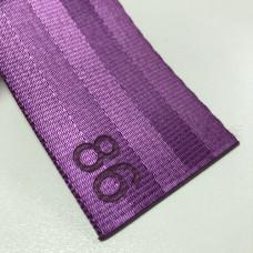 Лента ремня безопасности 86 фиолетовая