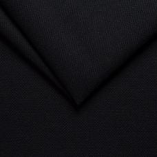 Рогожка обивочная ткань для мебели memory 18 black, черный
