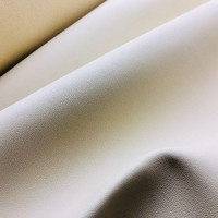Экокожа nappa бежевая гладкая на микрофибре