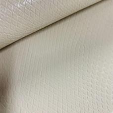 Искусственная кожа змея кремовая глянцевая т/п 0,9мм (цв718, 14 гр)