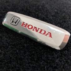Шильдик для автоковриков honda