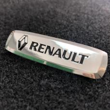 Шильдик для автоковриков renault