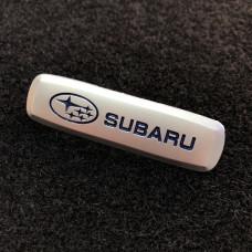 Шильдик для автоковриков subaru матовый цветной