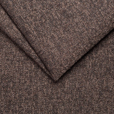 Рогожка обивочная ткань для мебели stella 06 dk. brown, темно-коричневый