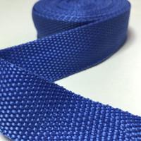 Лента окантовочная стропа для ковриков синяя (василек)