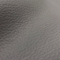 Искусственная кожа, кожзам темно-серая гладкая ультра 801