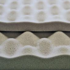 Звукоизоляционный и акустический материал виолон вэл волна 25 мм, лист 0,75 х 1,0 м SGM