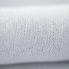 Блэкаут интерьерная ткань для штор и портьер, негорючая нить, термотрансфер, 300 см, белый аист
