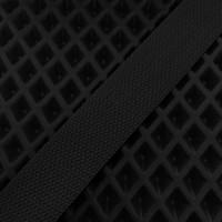 Лента окантовочная стропа для ковриков черная