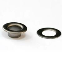 Люверс темный никель, диаметр 14 мм