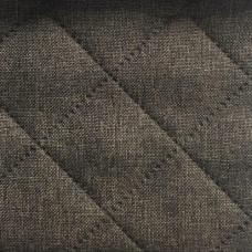 Рогожка обивочная ткань для мебели Falkone Sq-M coffe термопайка