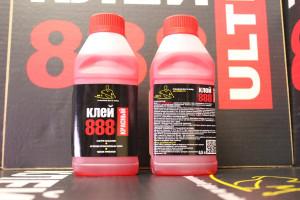 Клей 888 красный