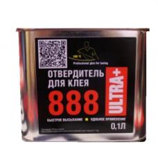 Отвердитель жидкий для клея 888 Ultra Plus в железной банке 0,5л.
