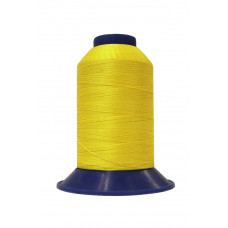 Нитки швейные polyart mt 20/3 1500(0061) желтый