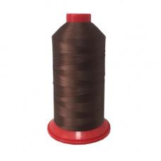 Нитки PolyArt 40.3 арт. 1077, коричневый