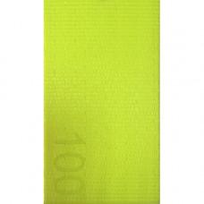 Лента ремня безопасности 100 ярко желтая