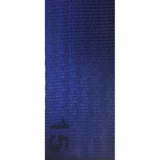 Лента ремня безопасности 15 темно-синяя (морской)