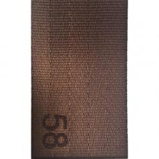 Лента ремня безопасности 58 коричневая
