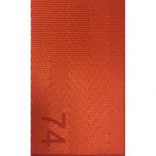 Лента ремня безопасности 74 оранжевая