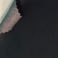 Экокожа черная гладкая с клеевым слоем (самоклейка) толщина 1 мм